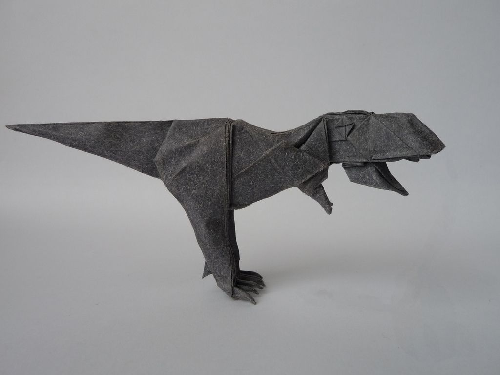 Photo of Papier t-rex