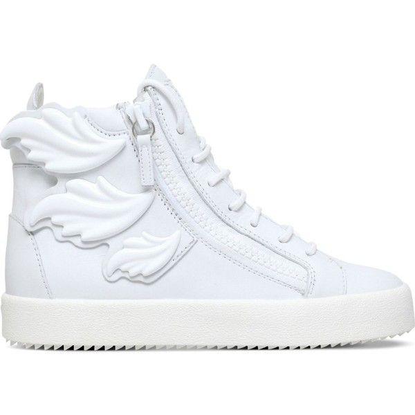 GIUSEPPE ZANOTTI Triple Wing Kanye high top trainers ($1,065