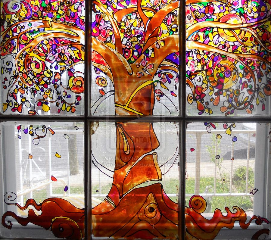 Drawing Photo Window Glass Painting Window Art Window Painting Painting On Glass Windows