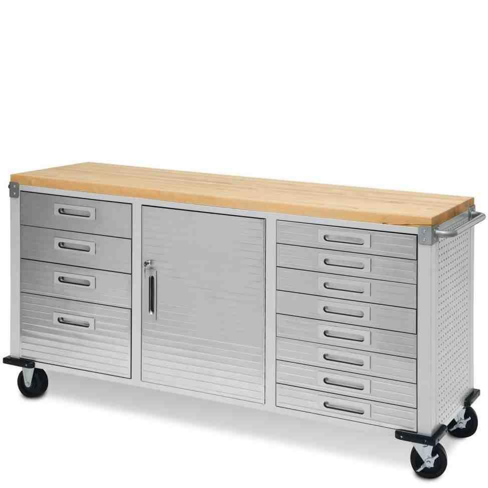 Metal Garage Cabinets Sale Rolling Workbench Workbench With Storage Storage Cabinet With Drawers