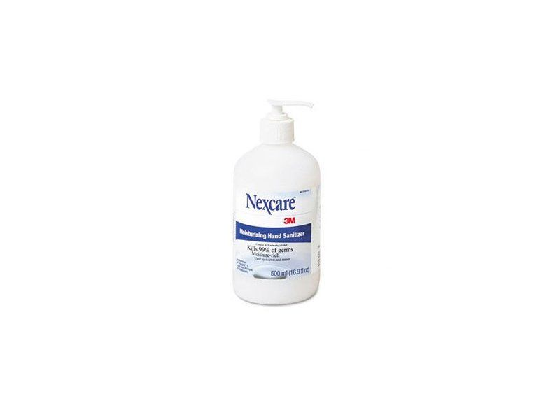Nexcare 3m Moisturizing Hand Sanitizer 16 9 Fl Oz Ingredients And