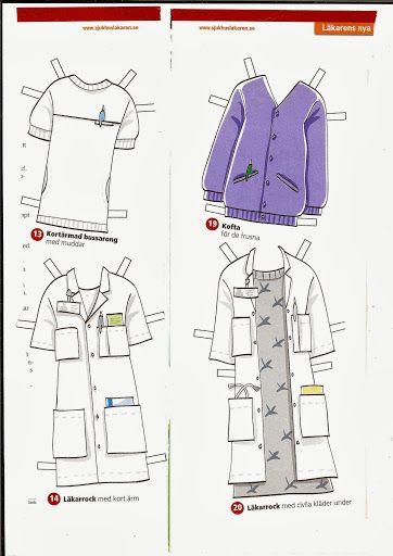 sygehus tøj