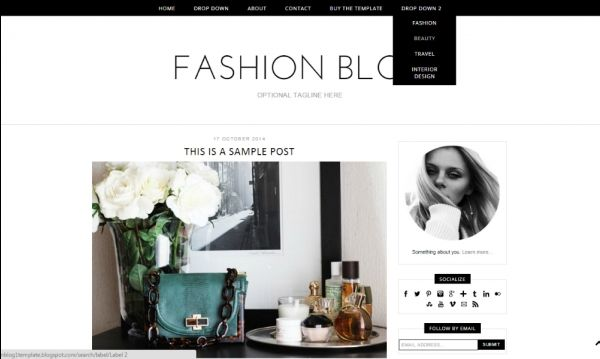 Pin by Luvly Marketplace on Blogger Templates
