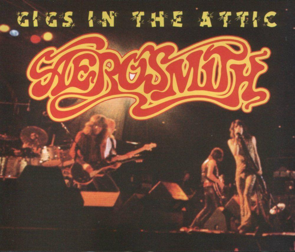 Aerosmith Gigs In The Attic Aerosmith Music Albums Neon Signs