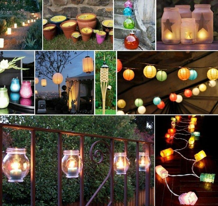 beleuchtung | gartenparty | pinterest, Garten Ideen