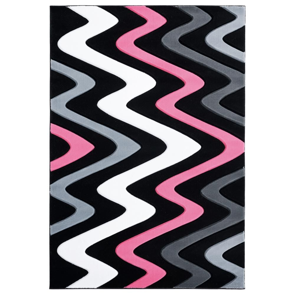 United Weavers Bristol Embezzle Pink 7 Ft 10 In X 7 Ft 10 In