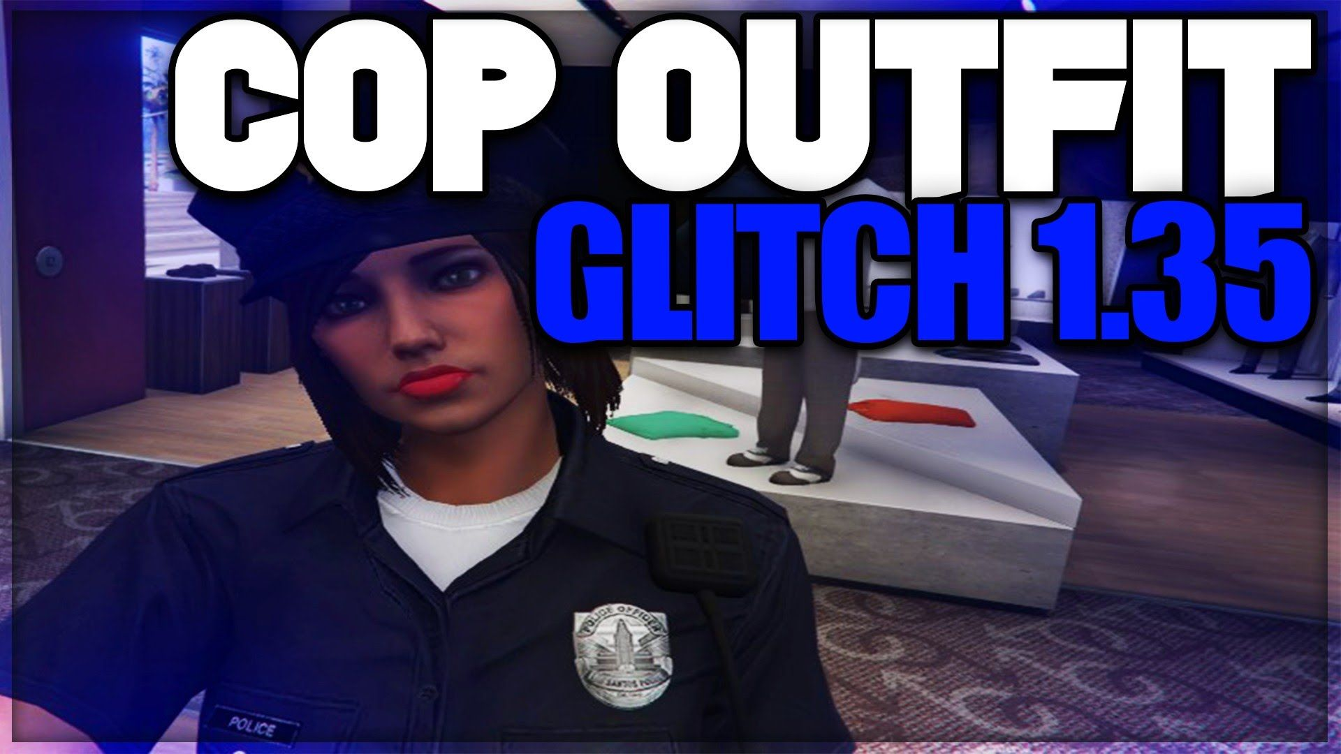 GTA 5 Online: How To Get The Police Uniform Glitch 1 35