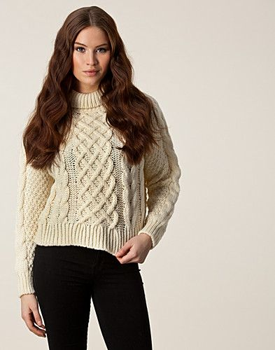 GENSERE - CARIN WESTER / RUTH KNIT TOP - NELLY.COM