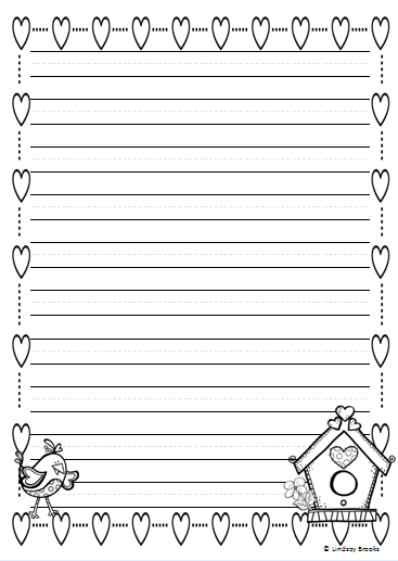 All The Writing Paper Styles You Need For Holiday And Seasonal Through December January February 40 Printable Pages Winter