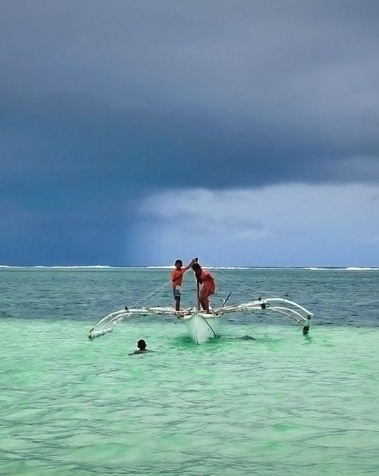 Magpupungko Beach. Siargao Philippines   Siargao