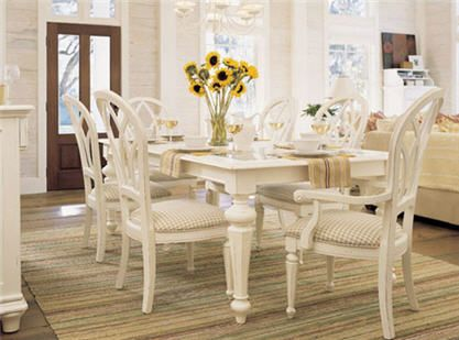 Cottage Dining Table And Chairs As Room For How To Paint Cool 60 Round