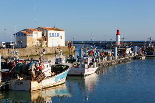Le Port De La Cotiniere Sur L Ile D Oleron Cotiniere Port Ile