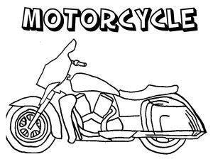 Police Motorcycle Coloring Page Police Motorcycle Coloring Page