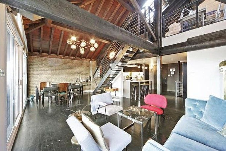dream home inspiration converted mezzanine warehouse east london