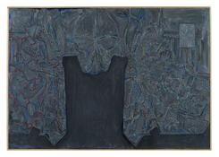 <i>Untitled</i> 2014 Acrylic on canvas 20 1/2 x 29 1/2 inches; 52 x 75 cm