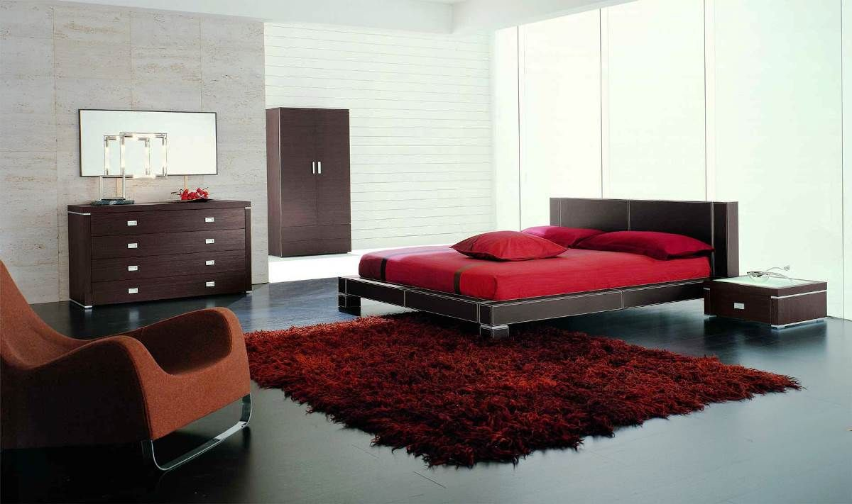 Best Black White And Red Bedroom