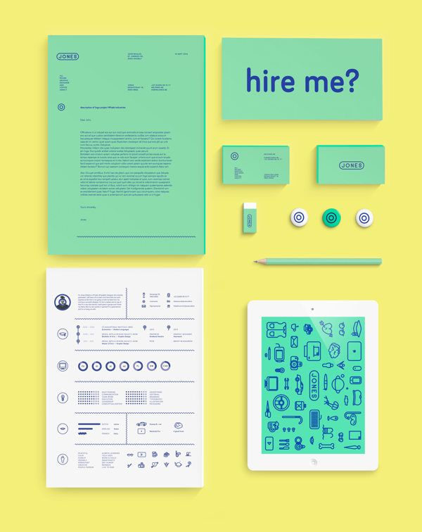 Personal branding \ resume on Branding Served Identity - most creative resumes