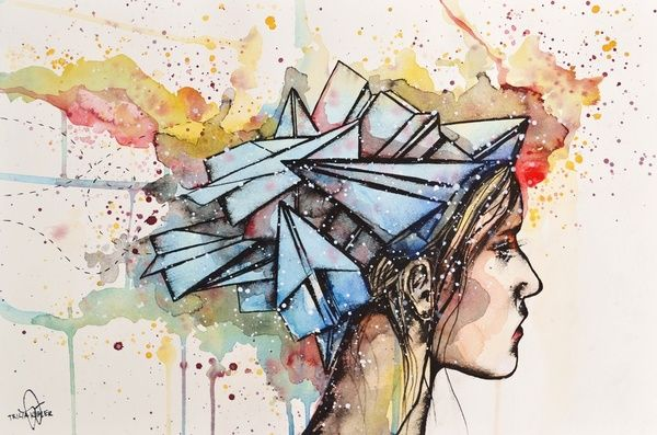 by Tricia Kiebler /// Paper Airplanes for Brains