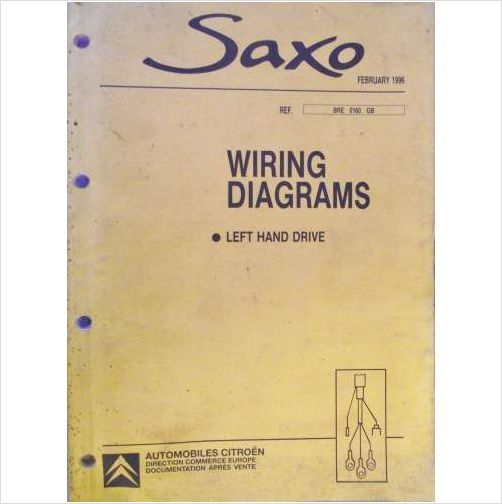 Citroen Saxo Wiring Diagrams Manual 1996 Bre0160gb On Ebid United Kingdom: Citroen Saxo Wiring Diagram At Hrqsolutions.co