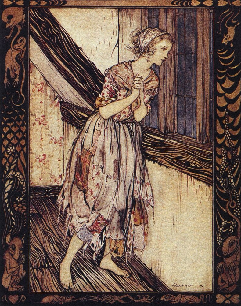 GRIMM FAIRY TALES original art KILLS CREEPY VAMPIRE ... |Grimm Fairy Tales Original Art