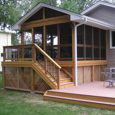 Handyman heroes porch house and decking for 2 season porch