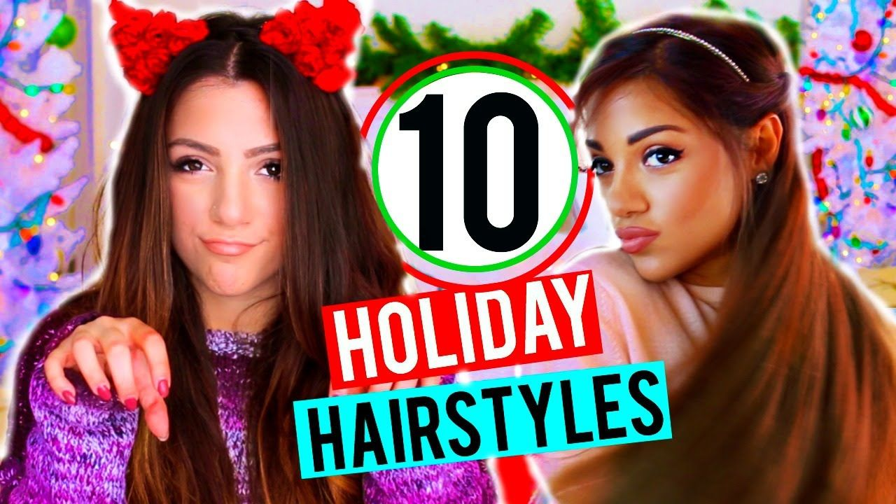 How to quick and easy hairstyles for the holidays niki and gabi