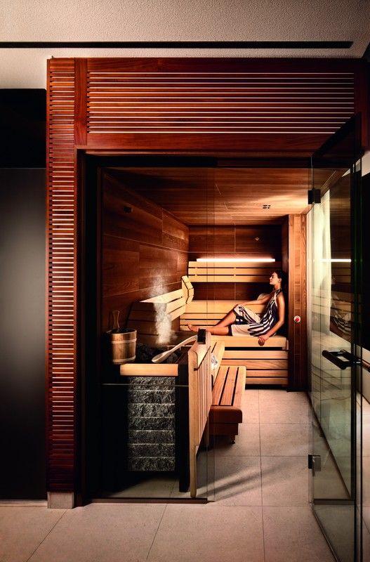 Jumeirah Frankfurt Hotel, Germany - Talise Spa Sauna Jumeirah - modernes design spa hotel