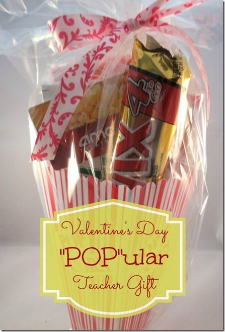 Pop Ular Valentine Teacher Gift Idea Crafty 2 The Core Diy Galore
