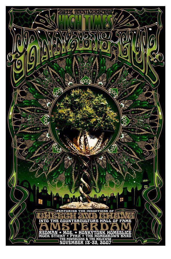 2007 20th Anniversary High Times Cannabis Cup