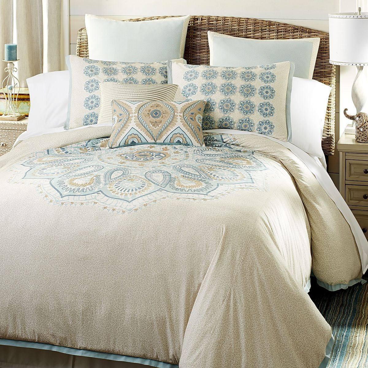 sferra luxurious medallion covers products cover giza duvet beds and linens