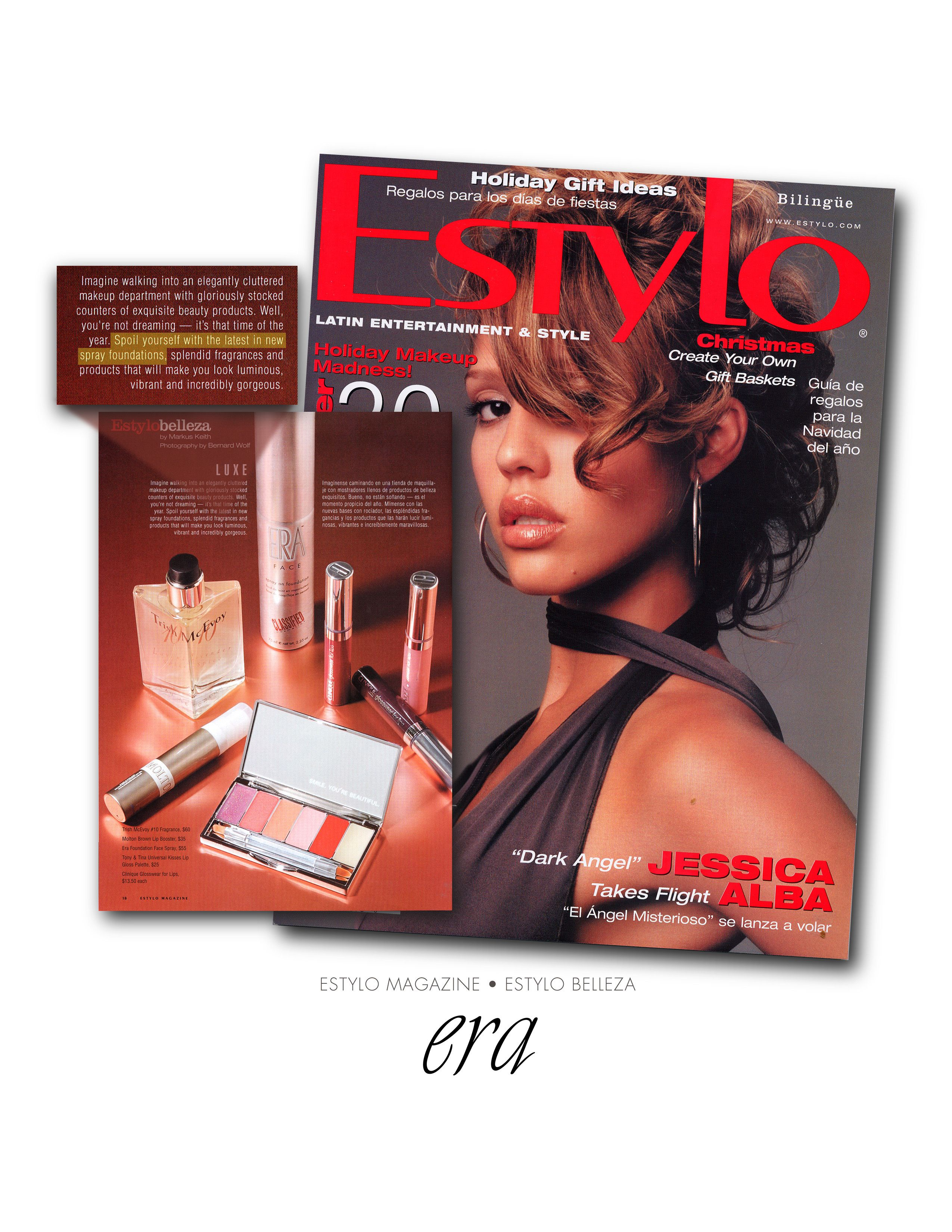 erasprayonmakeup GLOBAL EDITORAL PRESS IN MAGAZINES