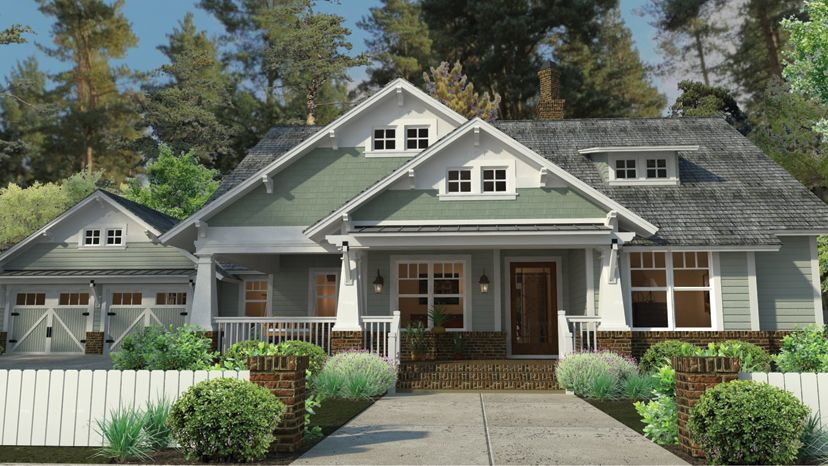 Our cottage house plans not only encompass small and for Craftsman style bungalow home plans