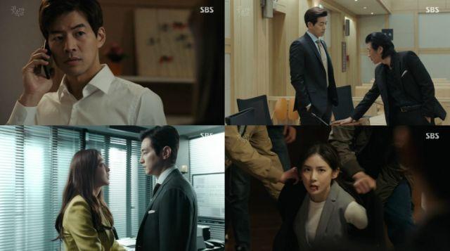 Hancinema S Drama Review Whisper Episode 4 Drama Episode Korean Drama