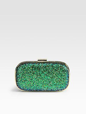 c36e1413ad ShopStyle: Anya Hindmarch Marano Glitter Clutch | Just my style ...