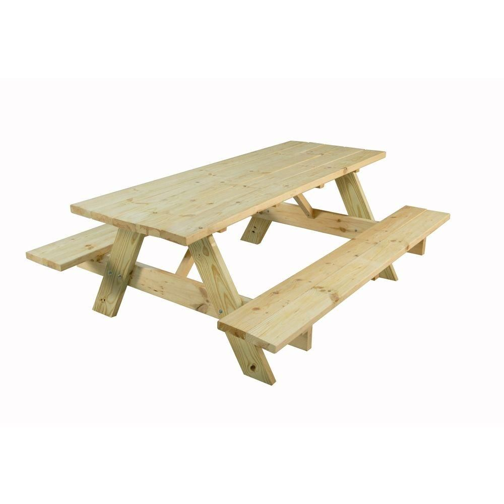 Picnic Tables For Our Backyard Wedding From Homedepot For Under 100 Table Picnic Table Picnic Table Kit Outdoor Essentials