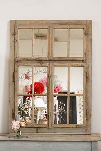Decorative Country Living - Mirrors <>< love this ><>