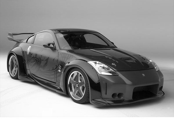 Awesome Nissan 350Z Fairlady Z Roadster, (.3ds) 3D Studio Max