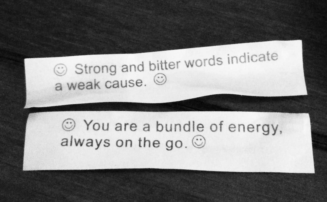 Fortune cookies make for great storystarters! Collect