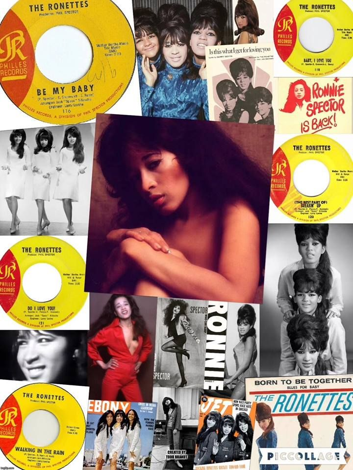 The Ronettes | The ronettes, Walking in the rain, Girl group