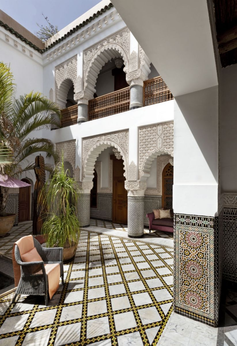 Enjoyable Moroccan Riad The Term Has Come To Represent Traditional Interior Design Ideas Gentotryabchikinfo