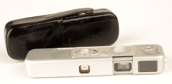 Classic spy Camera!    Minox B with Leather Case Working Light Meter oldschoolfoto, $95.00