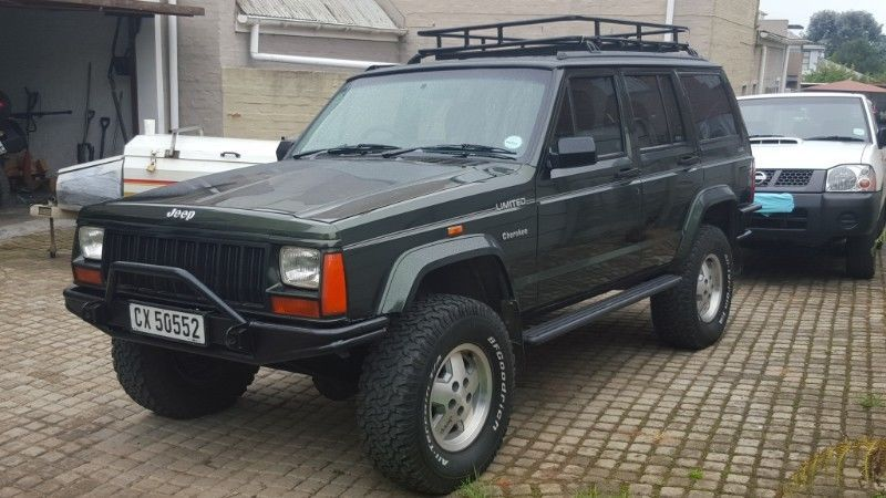 1995 Jeep Cherokee Suv Xj 4 0l 4x4 Limited Edition In George Image 1