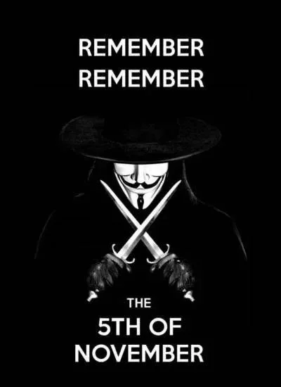 At Least There Was One Honest Person In Parliament The 5th Of November V For Vendetta Wallpapers V For Vendetta Quotes