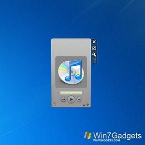 iTunes Sidebar Gadget Win 7 Gadget | Music & TV Win7 Gadgets