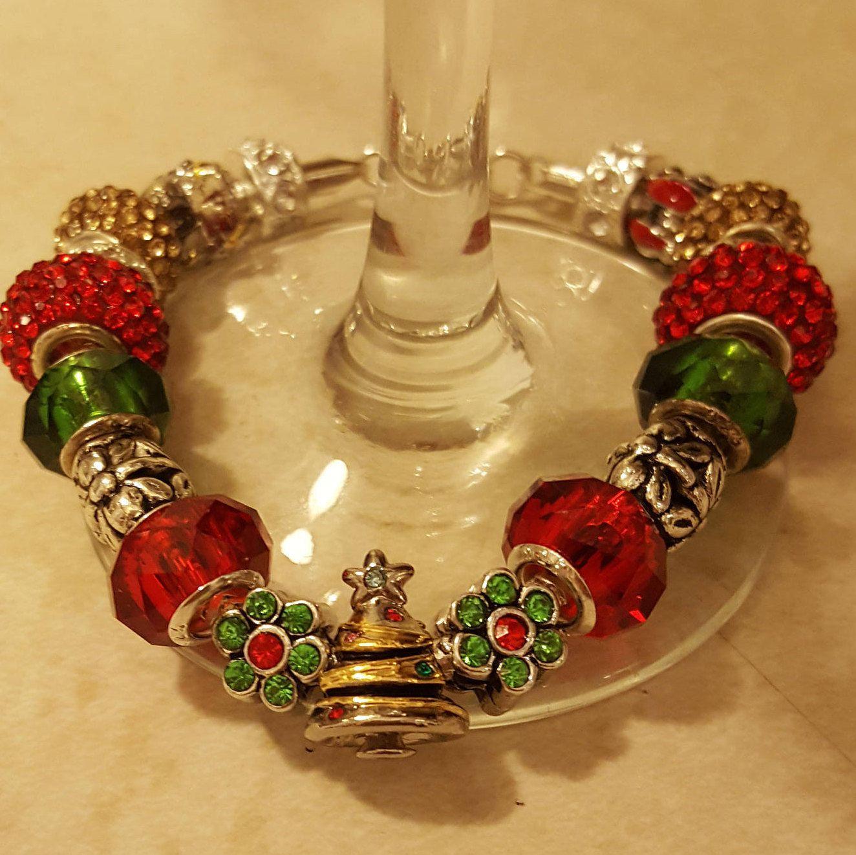 European Charm Bracelet Pandora Like Fairy Garden