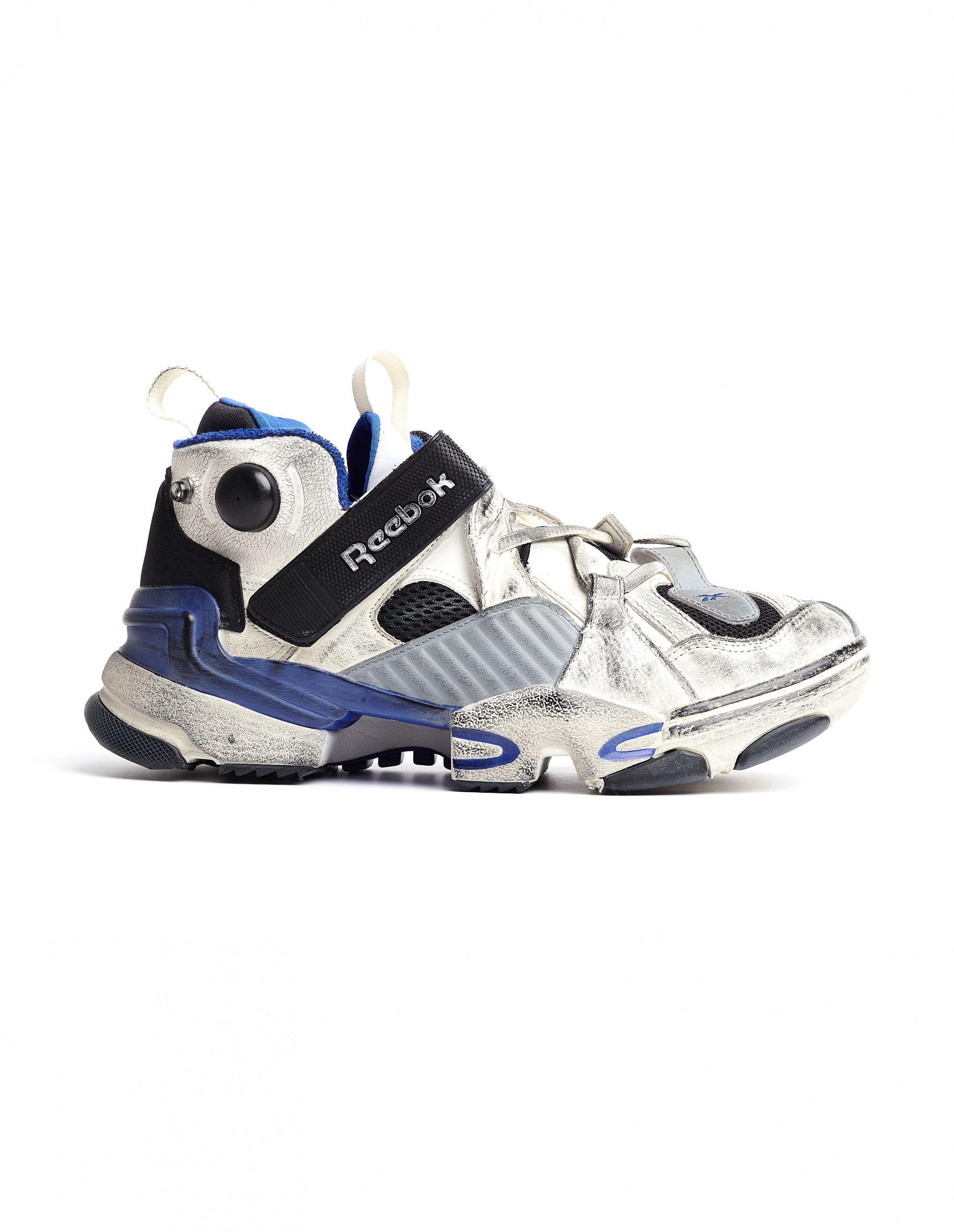 1ee90fe91742 VETEMENTS REEBOK GENETICALLY MODIFIED SNEAKERS.  vetements  shoes ...