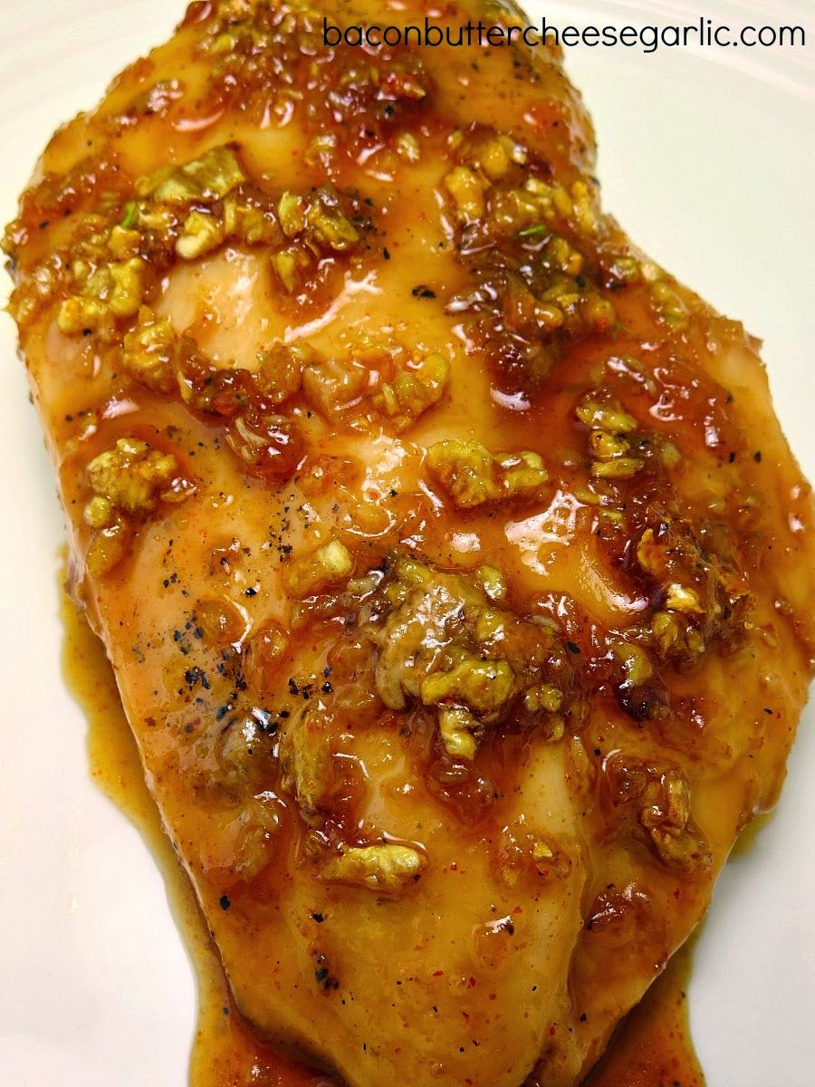 Bacon, Butter, Cheese & Garlic: Keep it Simple...sweet and spicy garlic chicken