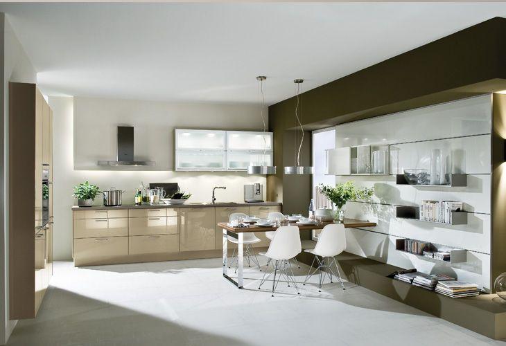 #Küche In Creme #Wohnküche Www.dyk360 Kuechen.de