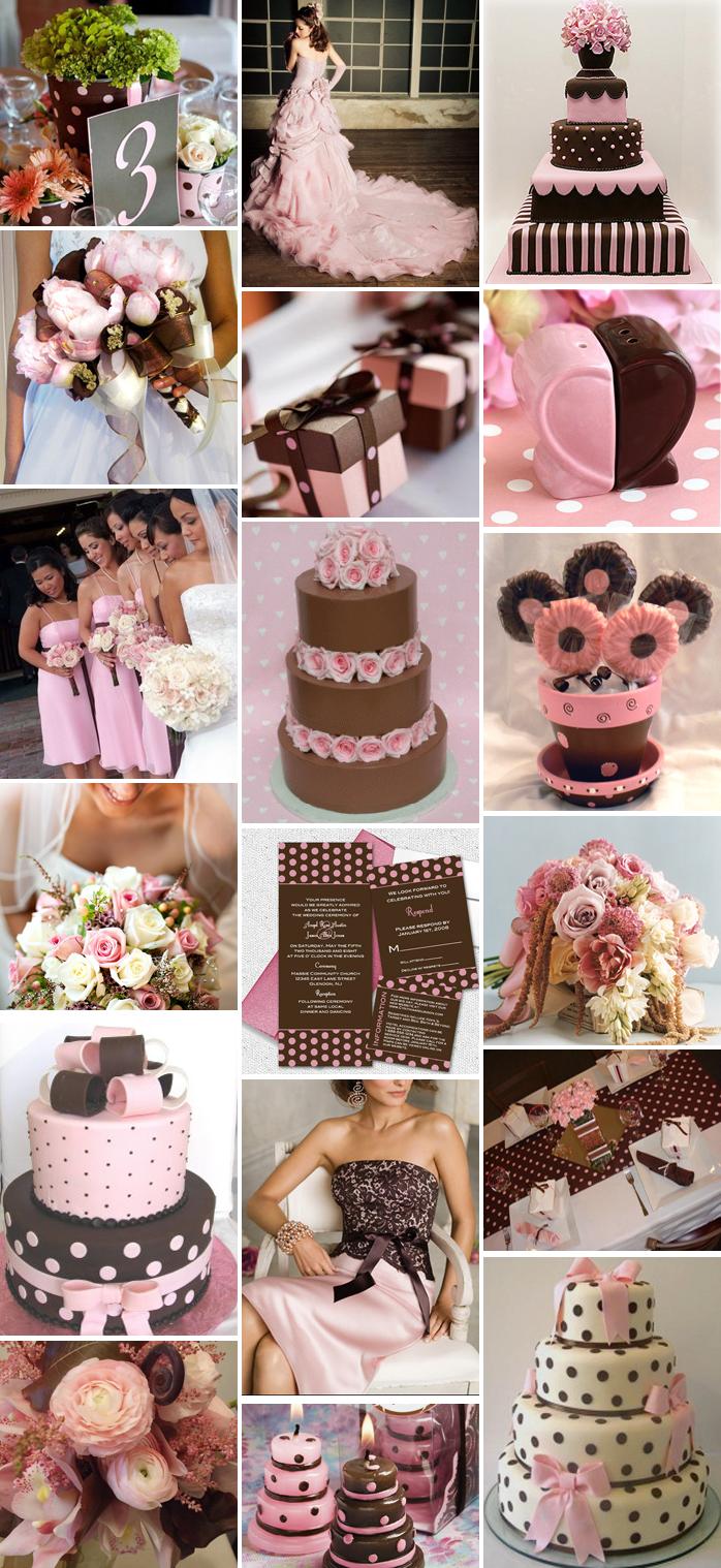 Pink And Brown Wedding Theme Tematicas Para Boda Pinterest