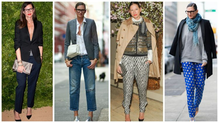 two on right; Jenna Lyons